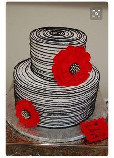 Buttercream Fondant, Fondant Cakes, Cupcake Cakes, White Buttercream, Take The Cake, Love Cake, Gorgeous Cakes, Pretty Cakes, Cupcakes Decorados