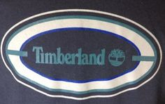 Timberland T-Shirt Large Mens Timberland Logo Graphic Charcoal Gray #Timberland #GraphicTee