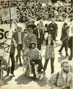 A Vietnam War protest, year unknown.