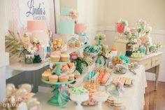 Peaches & Blooms High Tea Party