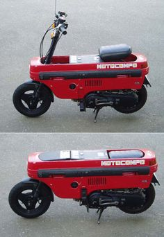 "1981 Motocompo, Honda ""Trunk Bike"""