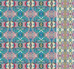 "From Patternobserver.com  Pattern Nostrum is a collection of 36 harmonious patterns, which ""though distinctive in themselves, maintain the shapes and colours of the pictorial matrix from which they derive and can be used for a host of different interpretations and applications within the scope of Industrial Design, Architecture, Surface Design, Editorial Design, Fashion and Textile Design."""