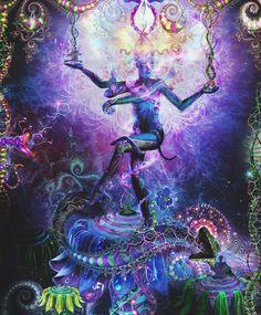 Third Eye Psychedelic | pineal gland # solar gazing # solar system # magnetic energy