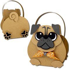 JMRush Designs: Pug Dog Basket
