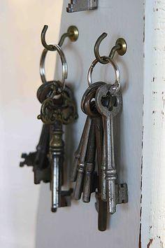 I LOVE old keys!                                                                                                                                                                                 More
