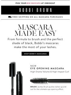 Lash Out: Bobbi's Mascara Guide - Bobbi Brown