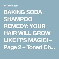 How to Grow Hair Faster, Thicker and Longer - Everyday Remedy Baking Soda Scrub, Baking Soda For Hair, Baking Soda Shampoo, Sugar Scrub Recipe, Hair Remedies For Growth, How To Grow Natural Hair, Healthy Hair Growth, Tips Belleza, Homemade Beauty