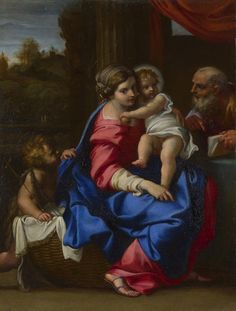 Annibale Carracci, The Holy Family with the Infant Saint John the Baptist ('The Montalto Madonna'), about 1600. London, National Gallery