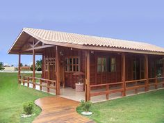 Timber House models + essential tips Cabin House Plans, Tiny House Cabin, Timber House, Wooden House, Style At Home, Building A Cabin, Village House Design, Bamboo House, Simple House Design