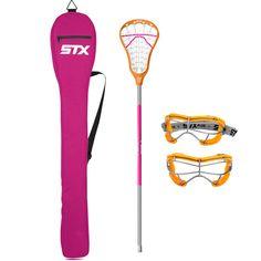 Girls Beginner Lacrosse Set #LAXdotCOM