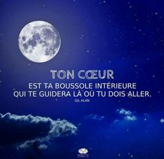 Quotes and inspiration QUOTATION - Image : As the quote says - Description Ton cœur est ta boussole - Atmosphère Citation Sharing is love, sharing is Top Quotes, Best Love Quotes, Life Quotes, Favorite Quotes, Uplifting Quotes, Motivational Quotes, Inspirational Quotes, Quote Citation, French Quotes
