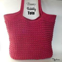 Bouncy Bubbly Tote ~ FREE Crochet Pattern