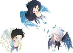 Guild Hunter Series: Raphael, Ilium and Elena