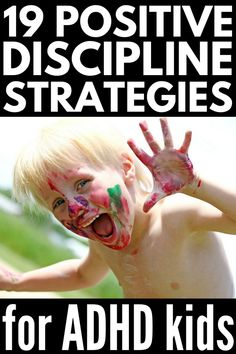 How to Discipline a Child with ADHD: 19 ADHD Parenting Tips that Work Improve your child's focus, concentration, self-control, and overall behavior with these ADHD parenting tips and discipline strategies! Good Parenting, Parenting Hacks, Parenting Classes, Parenting Plan, Peaceful Parenting, Parenting Styles, Parenting Workshop, Mindful Parenting, Autism Parenting