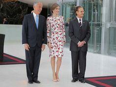 Queen Letizia Attended a Conference Held in Porto