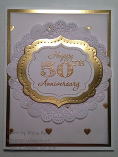 Hi Stampers!! Here is the 50th Fab Friday challenge!! I can't believe this is our 50th challenge!! We are amazing!! :) Sorry for t...