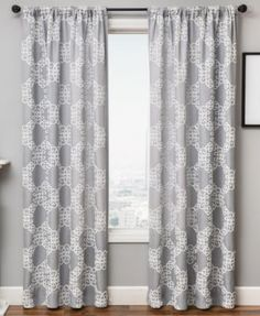Pleated Drapes,Silk Curtain Cool Gray-1 panel-choose size and style-SLDP22 Grommet Drapes Dining Room Curtain Living room Curtain panels