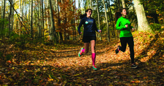 Heather Johnson Durocher suggests a few Northern Michigan running trails to try, plus some Northern Michigan food and drink stops to hit along the way.