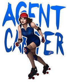 Derby #AgentCarter! #Marvel http://terasart.com/blog #art #illustration