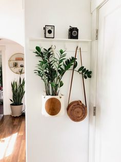 Full Moon Mud Cloth and Leather Plant Basket or Hanging Basket - Best Picture For diy clothes For Your Taste You are looking for something, and it is going to tel - Boho Living Room, Living Room Decor, Deco Studio, Plant Basket, Aesthetic Room Decor, Plant Aesthetic, Hanging Baskets, Hanging Plants, Indoor Plants