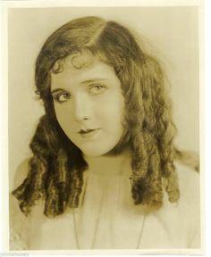 Mary Brian Hair Curls Vintage 1920s Portrait Eugene Richee Stamp Original Photo | eBay