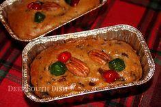 Deep South Dish: Old Fashioned Mini Fruitcakes