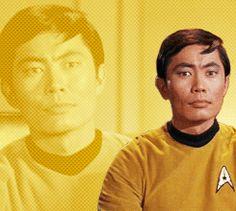 Star Trek gifs (from karlurbanings-deactivated201410 on Tumblr)--Sulu.
