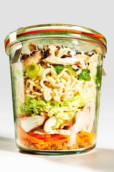 3 Cheap Lunch Recipes That Every Should Know 2019 Lunch chicken ramen noodle soup Mason Jar Recipes Salad Alternatives The post 3 Cheap Lunch Recipes That Every Should Know 2019 appeared first on Lunch Diy. Mason Jar Lunch, Mason Jar Meals, Meals In A Jar, Mason Jar Recipes, Mason Jars, Healthy Snacks, Healthy Eating, Healthy Recipes, Kids Meals
