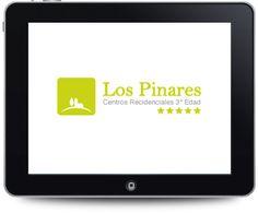 Diseño de logotipo para Centros residenciales 3ª Edad Los Pinares