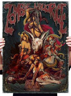 ✯ Zombie Liquorice Poster  by ~WacomZombie ✯