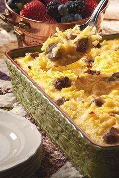 Amish Breakfast Casserole | MrFood.com
