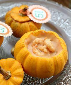 Bobó de Camarão na mini moranga: delícia baiana | MATRAQUEANDO