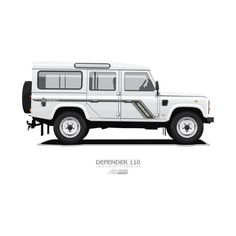 Awesome 'Defender+110+County' design on TeePublic!  #landrover #landy #teepublic #defender110 #car #offroad #cute #county #british #ARVwerks