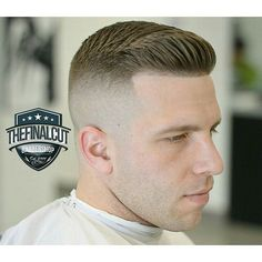 Growing Out Medium Length Hairstyle For Men Barber Haircuts, Haircuts For Men, Mens High Fade Haircut, Short Hair Cuts, Short Hair Styles, Faded Hair, Look Man, Hair And Beard Styles, Hairstyles Haircuts