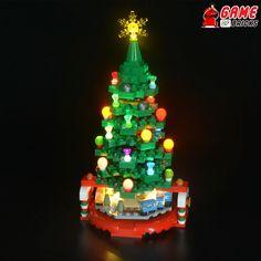 Lego Christmas Tree, Christmas Ornaments, Lego Advent Calendar, Lego Winter, Led Light Kits, Beautiful Christmas Trees, Lego Sets, Legos, Spice Things Up