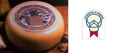 CASCIOTTA DI URBINO DOP - di antiche origini, è un formaggio prevalentemente di latte ovino (3/4) e un po' di latte vaccino (1/4). Produzione: province di Pesaro (in particolare Urbino). Ha forma cilindrica e piccole dimensioni: peso non superiore a 1,2 kg. La crosta è sottile a causa della breve maturazione (15-30 giorni). La pasta è compatta, di colore bianco paglierino, molto friabile e con lievi occhiature, di sapore dolce con sentore di latte.