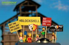 I SIMPSON ATTIVISTI PROTESTANO A SAN FERDINANDO DI PUGLIA Chiedi a @LEGO_Group di chiudere con Shell #BlockShell Per aderire: grnpc.org/Ig0RQ (Greenpeace Gruppo Locale San Ferdinando di Puglia)
