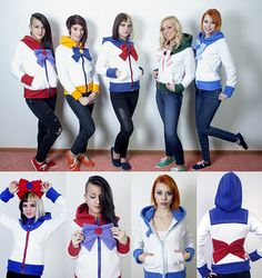 Exclusive Look At New Sailor Moon Hoodies By Rarity's Boutique and link looking at her other amazing sweatshirts