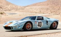 "The Ford GT40 1968 is one of the most famous classic racing cars on the planet today.  This car not only ran & won races, but Steve McQueen chose it for his movie ""Le Mans"" making it even more iconic.  It was so widely known yet so rare and so all the reason for the car to be sold for 11 million in 2012!!"
