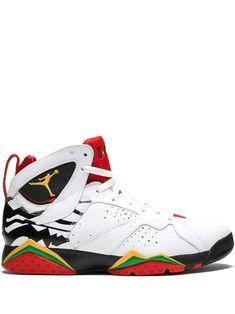 Jordan Air 7 Retro Premio Sneakers In White Retro Sneakers, Casual Sneakers, Sneakers Fashion, Air Jordan Retro, Sneakers Nike Jordan, Nike Air Shoes, Jordan Shoes, All Jordans, Kicks Shoes