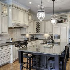 grey kitchen cabinets pictures | White-gray Cabinets Design Ideas, Pictures, Remodel, and Decor