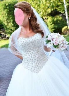 Kup mój przedmiot na #vintedpl http://www.vinted.pl/damska-odziez/inne/11581546-suknia-slubna-madam-b-burcu-102-princessa-dodatki-rozmiar-3638