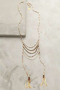 Anthropologie - Tassel Blaze Necklace