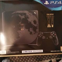 My mom and me had as Christmas Gift the PS4 with FFXV #Playstation4 #PS4 #Sony #videogames #playstation #gamer #games #gaming