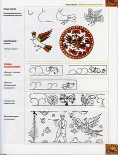 View album on Yandex. Diy And Crafts, Arts And Crafts, Russian Folk, Painting Lessons, Folk Art, Pattern Design, Tapestry, Stamp, Crafty