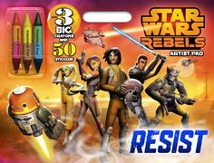 Bendon Publishing Star Wars Rebels Jumbo and Activity Book 64 Pages