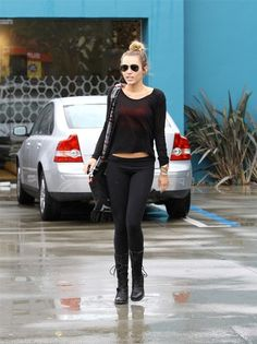 Miley Cyrus Casual Outfit
