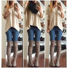 Cupshe Flares And Graces Twist Casual Sweater