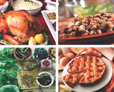 Thanksgiving menu ideas from Chelsea Green #food #turkey