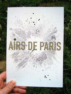 air de paris - air de paris / centre pompidou - graphic design - Frédéric Teschner Studio